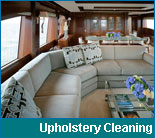 Yacht Upholstery Cleaning Services in South Florida